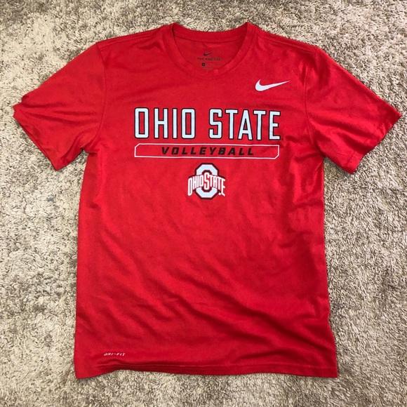 ecd3b5c17e OSU Nike Dri-Fit Red Volleyball T-Shirt. M_5c537a075c4452461dafa297